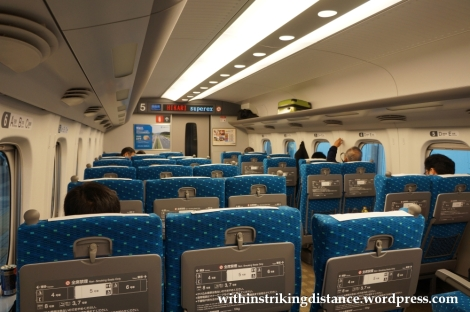 25Nov14 004 N700 Series Shinkansen Train Ordinary Car Japan
