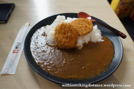 25Nov14 021 Curry Croquettes Kansai Airport Japan