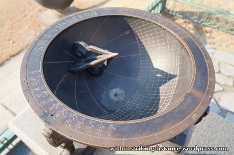 12Dec14 Deoksugung Seoul South Korea 015 Angbuilgu Sundial