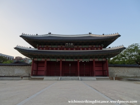 26Sep15 001 South Korea Seoul Moonlight Tour at Changdeokgung Palace