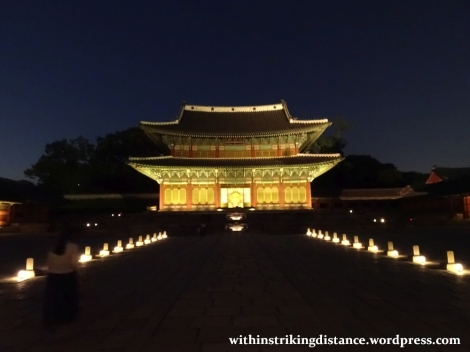 26Sep15 007 South Korea Seoul Moonlight Tour at Changdeokgung Palace