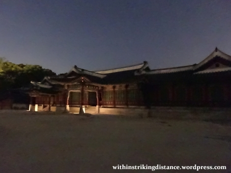 26Sep15 009 South Korea Seoul Moonlight Tour at Changdeokgung Palace