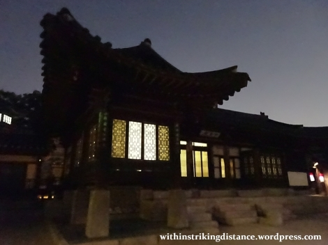 26Sep15 011 South Korea Seoul Moonlight Tour at Changdeokgung Palace