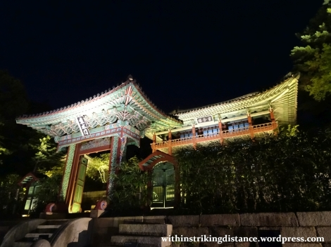 26Sep15 016 South Korea Seoul Moonlight Tour at Changdeokgung Palace