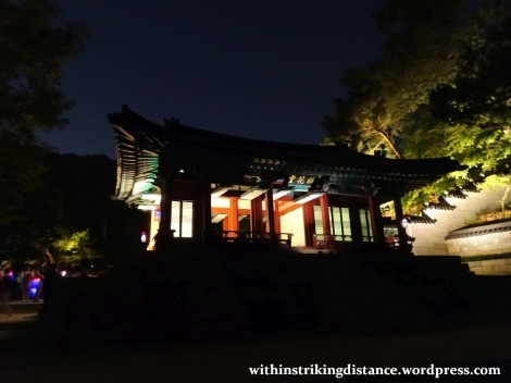 26Sep15 019 South Korea Seoul Moonlight Tour at Changdeokgung Palace