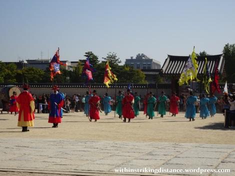 27Sep15 002 South Korea Seoul Gyeongbokgung Palace Changing of the Guard