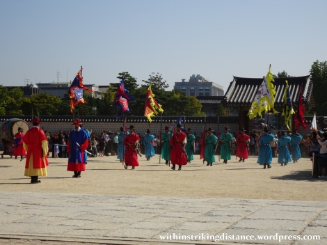 27Sep15 002 South Korea Seoul Gyeongbokgung Palace Changing of the Guard