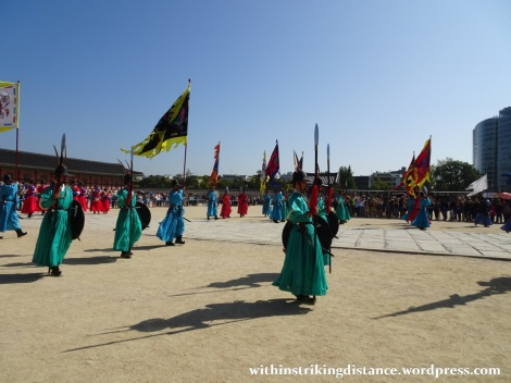 27Sep15 003 South Korea Seoul Gyeongbokgung Palace Changing of the Guard
