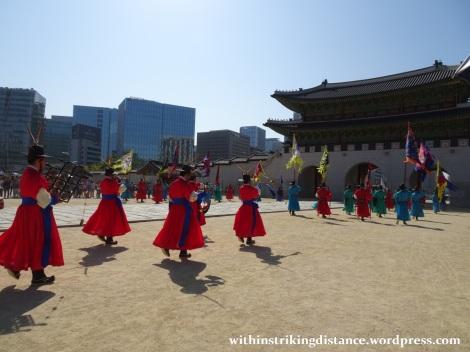 27Sep15 004 South Korea Seoul Gyeongbokgung Palace Changing of the Guard