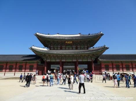 27Sep15 005 South Korea Seoul Gyeongbokgung Palace Heungnyemun