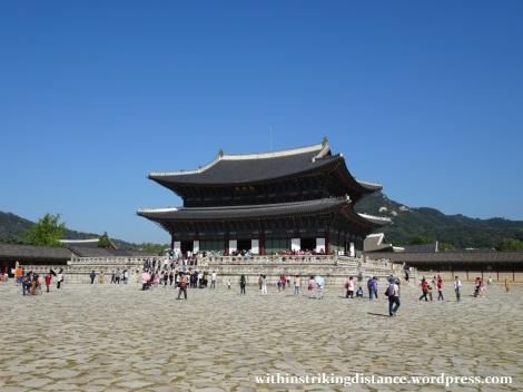 27Sep15 006 South Korea Seoul Gyeongbokgung Palace Geunjeongjeon