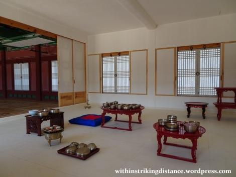 27Sep15 019 South Korea Seoul Gyeongbokgung Palace Sojubang Royal Kitchen