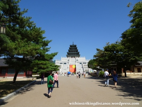 27Sep15 022 South Korea Seoul Gyeongbokgung Palace National Folk Museum