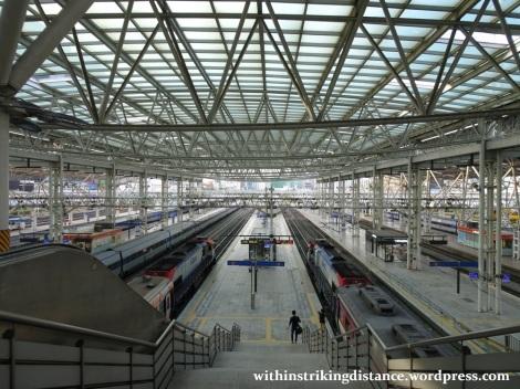 28Sep15 002 South Korea KORAIL S-train 4873 Seoul Station to Suwon