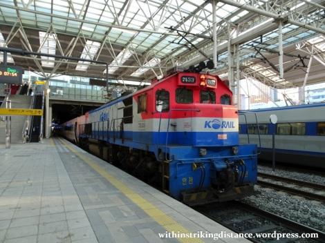 28Sep15 003 South Korea KORAIL S-train 4873 Seoul Station to Suwon