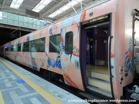 28Sep15 004 South Korea KORAIL S-train 4873 Seoul Station to Suwon