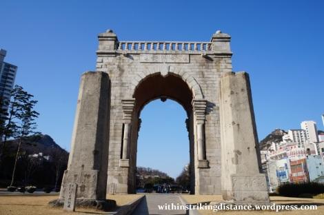 13Dec14 005 South Korea Seoul Seodaemun Independence Park Dongnimmun