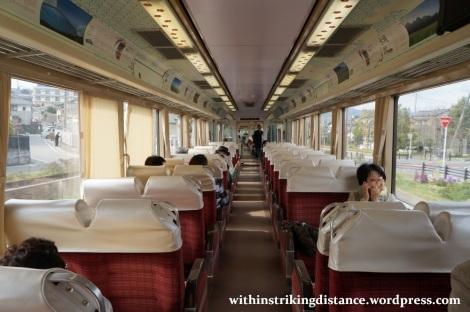 24Mar15 007 Nishitetsu Tenjin Omuta Line 8000 series EMU Tabito train