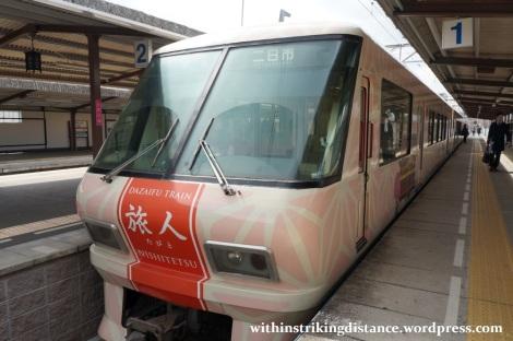 24Mar15 008 Nishitetsu Tenjin Omuta Line 8000 series EMU Tabito train