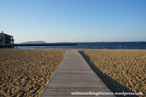 24Mar15 006 Japan Kyushu Fukuoka Seaside Momochi Momochihama Beach
