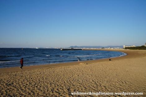 24Mar15 007 Japan Kyushu Fukuoka Seaside Momochi Momochihama Beach