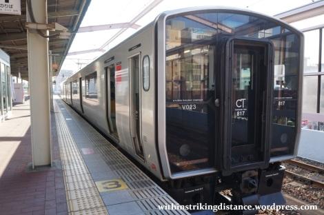 25Mar15 001 Japan JR Kyushu 817 Series EMU Train
