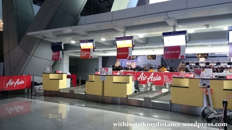 06Feb16 001 AirAsia Flight Z2 884 MNL ICN NAIA Terminal 3 Check In Counter