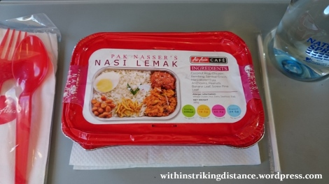 06Feb16 002 AirAsia Flight Z2 884 MNL ICN Meal Pak Nasser Nasi Lemak