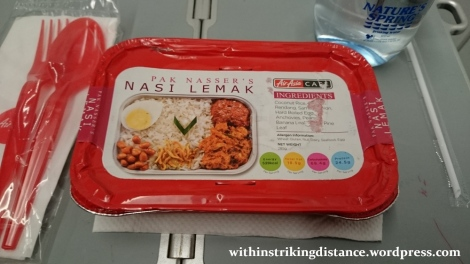 09Feb16 010 AirAsia Flight Z2 85 ICN MNL Meal Pak Nasser Nasi Lemak