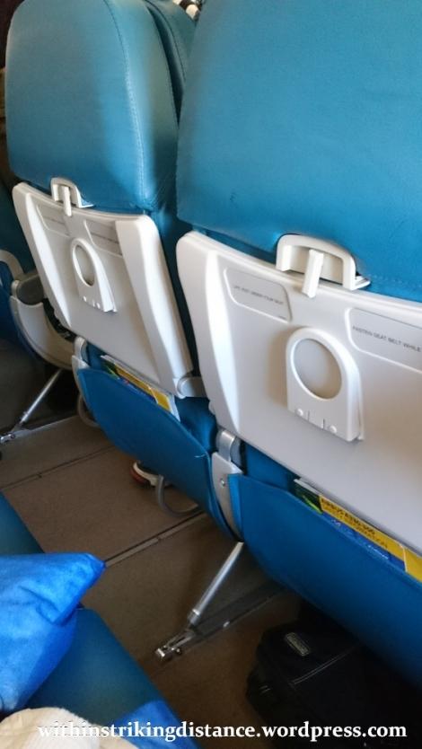 09Mar16 006 Philippine Airlines Flight PR 432 MNL NRT Manila Tokyo A330-300 Economy Class Seat