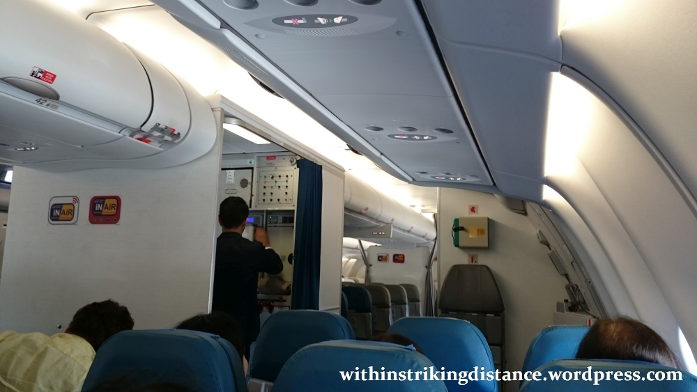 09Mar16 007 Philippine Airlines Flight PR 432 MNL NRT Manila Tokyo A330 300 Economy Class