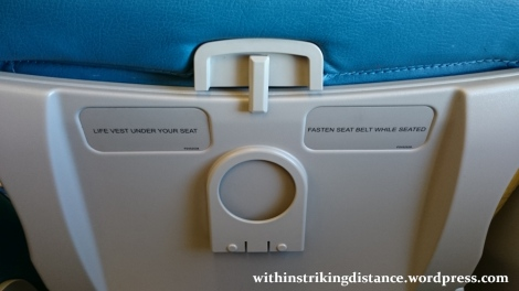 09Mar16 008 Philippine Airlines Flight PR 432 MNL NRT Manila Tokyo A330-300 Economy Class Seat
