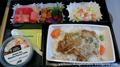 09Mar16 009 Philippine Airlines Flight PR 432 MNL NRT Manila Tokyo Economy Class Meal