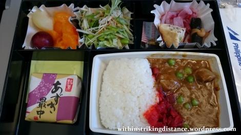15Mar16 001 Philippine Airlines Flight PR 431 NRT MNL Tokyo Manila Economy Class Meal