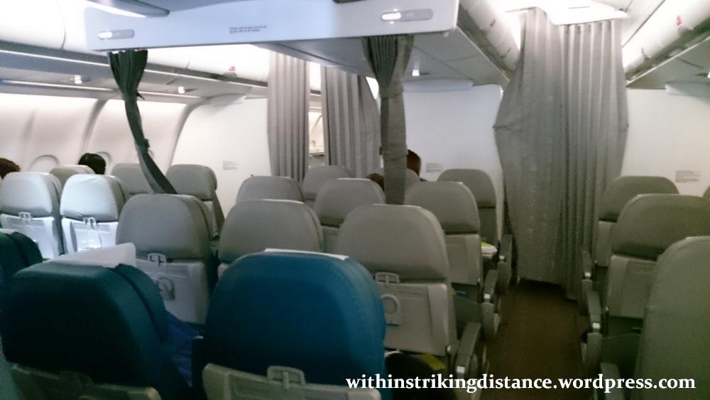 15Mar16 004 Philippine Airlines Flight PR 431 NRT MNL Tokyo Manila A330 300 Premium Economy