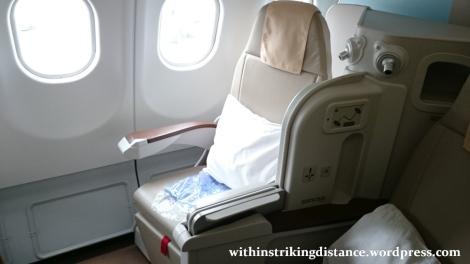 15Mar16 006 Philippine Airlines Flight PR 431 NRT MNL Tokyo Manila A330-300 Business Class Seat