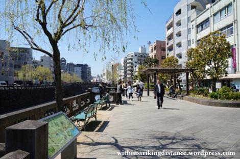 26Mar15 001 Japan Kyushu Nagasaki Nakashima River Meganebashi Spectacles Bridge