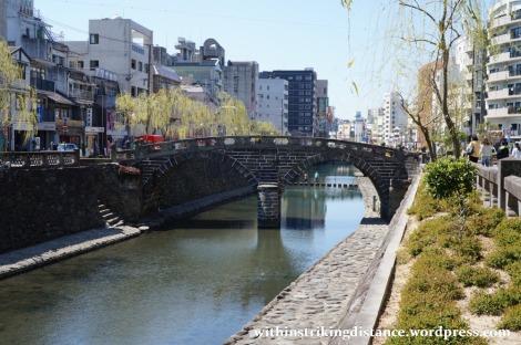 26Mar15 002 Japan Kyushu Nagasaki Nakashima River Meganebashi Spectacles Bridge