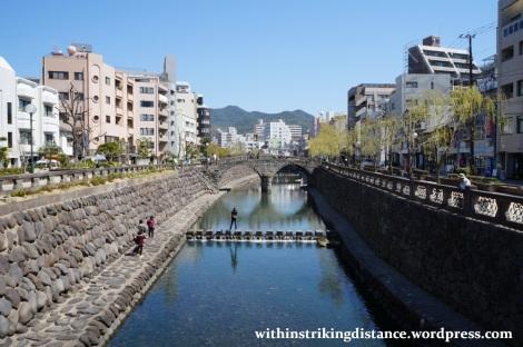 26Mar15 006 Japan Kyushu Nagasaki Nakashima River Meganebashi Spectacles Bridge