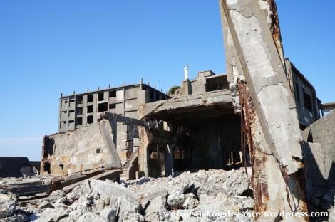 26Mar15 010 Japan Kyushu Nagasaki Hashima Gunkanjima Battleship Island