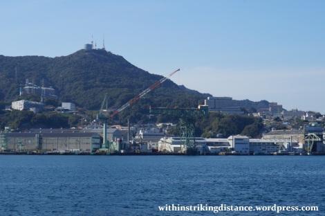 26Mar15 033 Japan Kyushu Nagasaki Hashima Gunkanjima Mitsubishi Shipyard Hammerhead Crane