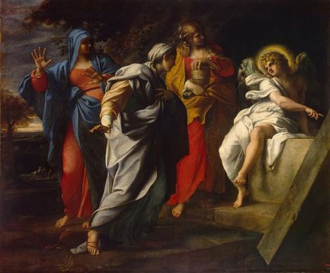 Annibale Carracci - Holy Women at Christ's Tomb