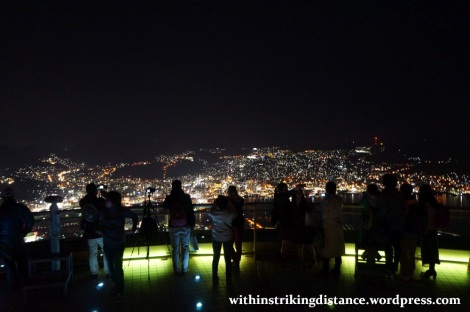26Mar15 005 Japan Kyushu Nagasaki Mount Inasa Night View Observation Deck