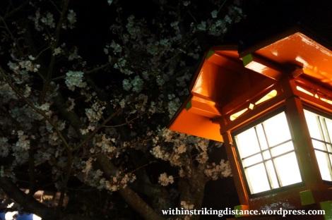 26Mar15 010 Japan Kyushu Nagasaki Mount Inasa Fuchi Shrine Sakura Cherry Blossoms