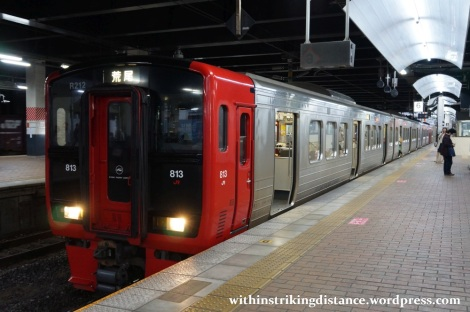 27Mar15 001 Japan JR Kyushu 813 Series EMU Train Set R212