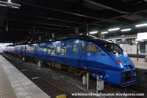 27Mar15 001 Japan JR Kyushu 883 Series EMU Train Set AO5