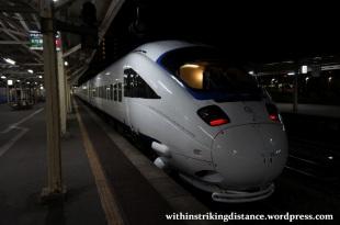 27Mar15 001 Japan JR Kyushu 885 Series EMU Limited Express Train Kamome Nagasaki Station