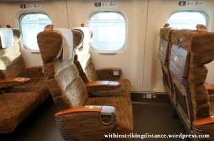 27Mar15 002 Japan JR Kyushu N700-8000 Series Shinkansen Train Sakura Reserved Ordinary Car