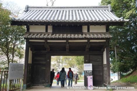 28Mar15 009 Japan Kyushu Fukuoka Castle Maizuru Ohori Park Sakura Cherry Blossom