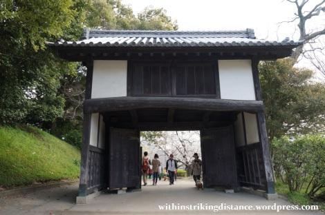 28Mar15 010 Japan Kyushu Fukuoka Castle Maizuru Ohori Park Sakura Cherry Blossom